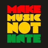 Pánské Triko MAKE MUSIC NOT HATE